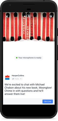 Facebook Introduces Audio-Only Facebook Live Broadcasts | Social Media Today