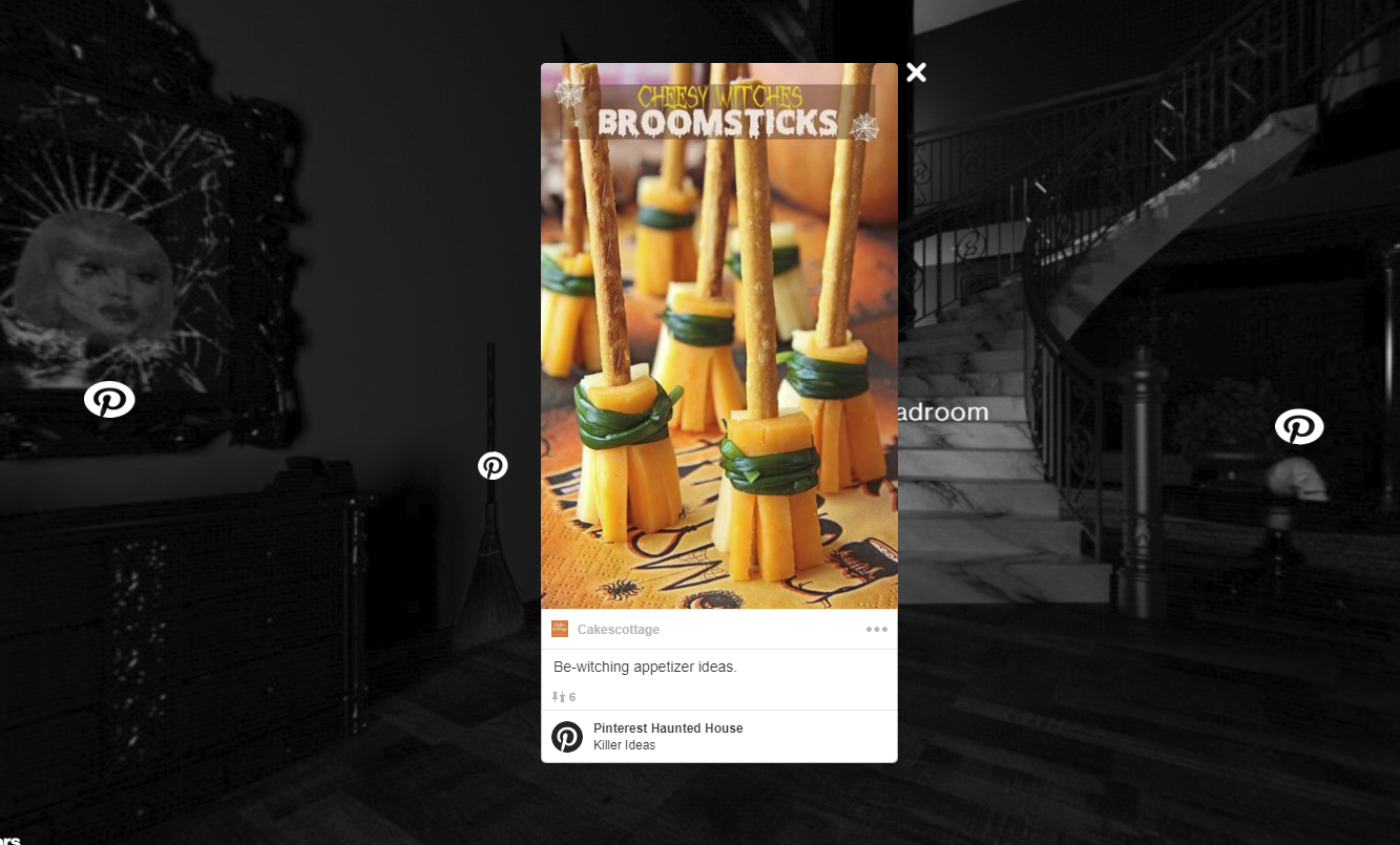 Pinterest Showcases Halloween Ideas with a New, Interactive Haunted House | Social Media Today