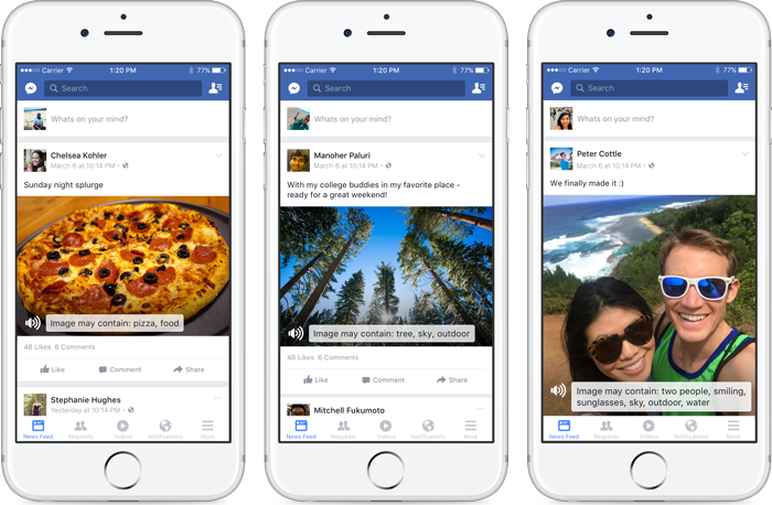 Facebook Showcases Examples of Advanced Image Recognition AI, Future Possibilities | Social Media Today