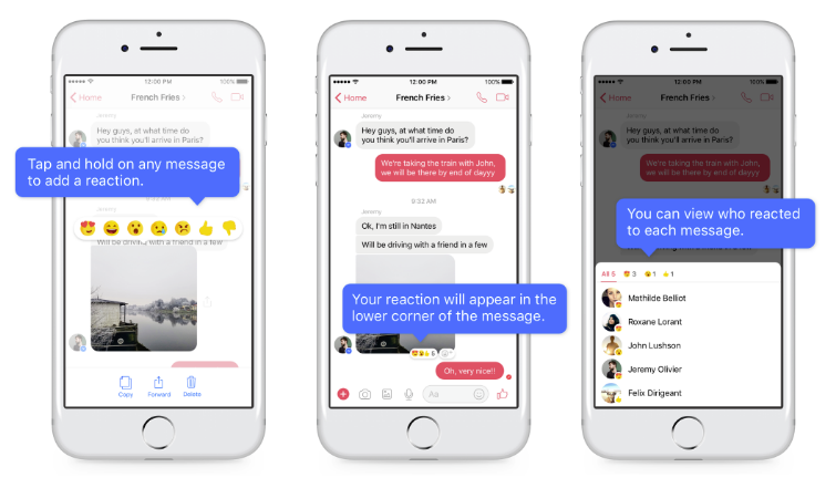 Facebook Rationalizes Group Chats with Messenger Reactions and Mentions | Social Media Today