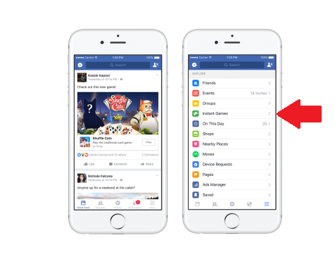 Facebook Adds Addictive New Instant Games Feature to Messenger | Social Media Today