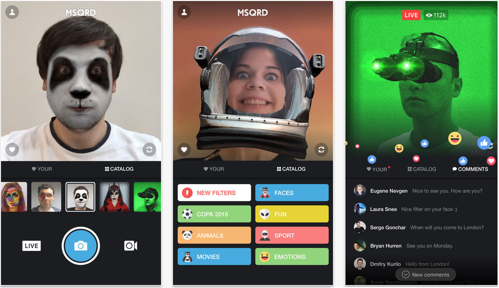 Facebook Announces MSQRD Masks Now Available for Facebook Live Broadcasts | Social Media Today