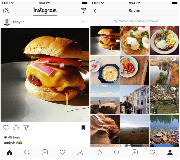 Instagram Announces New Option to Save Posts | Social Media Today